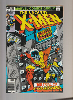 X-Men # 122  The Trial of Colossus !  grade 9.2 scarce book !