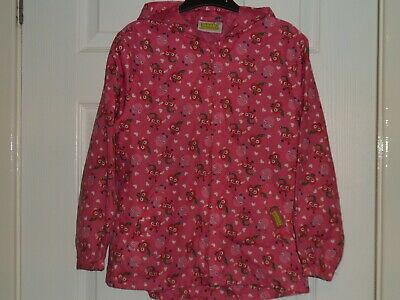 MOSHI MONSTERS Pink Lightweight Raincoat with Hood Age 7-8