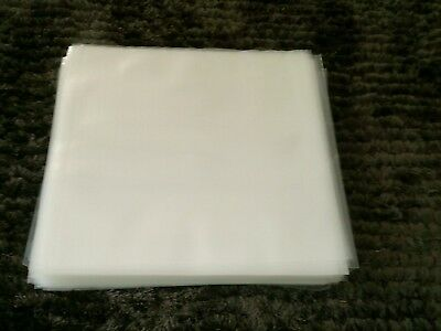 """300 New Premium Thick Lp / 12"""" Plastic Outer Record Cover Sleeves For Vinyl"""
