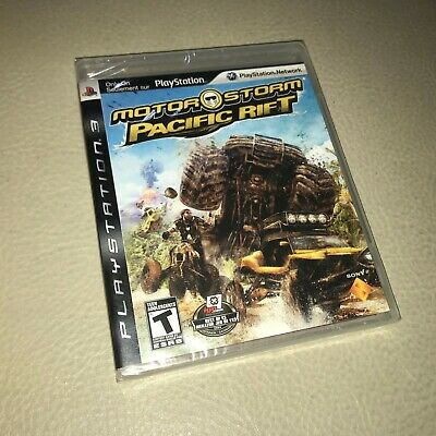 Brand New Sealed PS3 MotorStorm: Pacific Rift (Sony PlayStation 3, 2008)