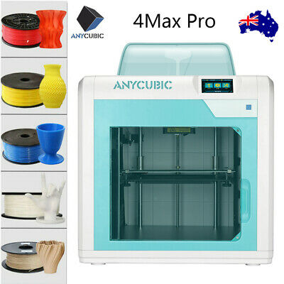 AU ANYCUBIC 4Max Pro FDM 3D Printer Resume Printing Ultrabase Heatbed ABS PLA