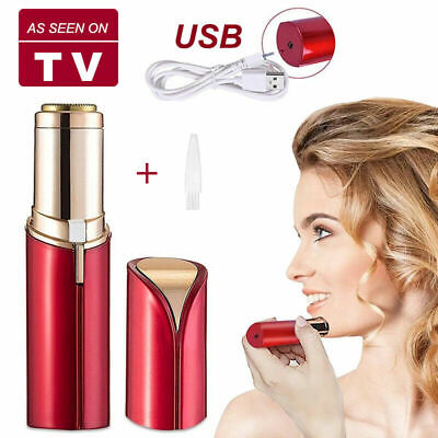 Mini Women's Lipstick Epilator Facial Face Painless Trimmer Shaver Razor