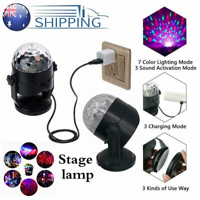 LED RGB Stage Light Disco Party DJ KTV Outdoor Garden Laser Lamp Projector Decor