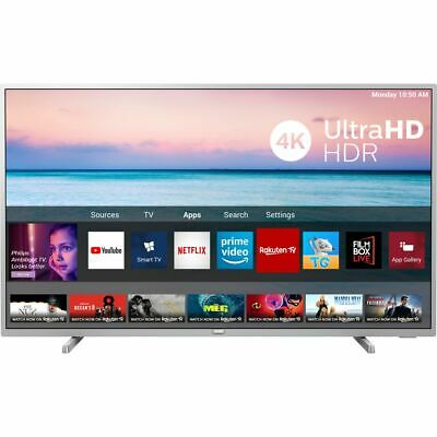 Philips TPVision 50PUS6554 50 Inch TV Smart 4K Ultra HD LED Freeview HD 3 HDMI