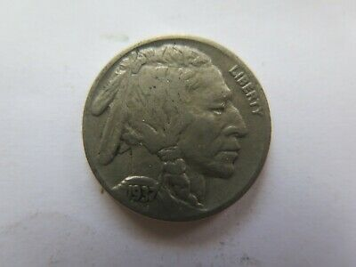 1937 USA INDIAN HEAD NICKEL in NICE COLLECTABLE CONDITION