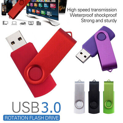 USB 3.0 2TB Flash Drives Swivel Memory Thumb Pen Stick Media U Disk Laptop/PC uk