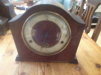 English Westminster Chime Mantle Clock