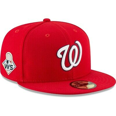 Official 2019 MLB World Series Washington Nationals New Era 59FIFTY Fitted Hat