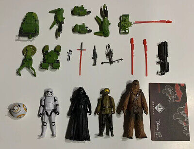 Star Wars The Force Awakens Kohls Excl. 5 Pack LOOSE/COMPLETE-Forest Mission