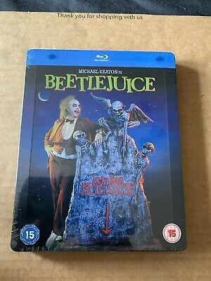 Beetlejuice - Zavvi UK Exclusive Blu-Ray Steelbook *NEW & SEALED* Tim Burton