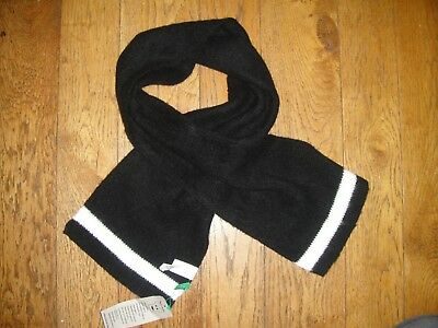 UNITED COLORS OF BENETTON BOYS RIBBED SCARF - BNWT - RRP £16.00 - 0-24Mths