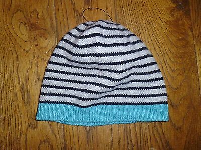 SUPER SOFT BOYS STRIPED BEANIE FROM NEXT - BNWOT - UK 12-24 Months
