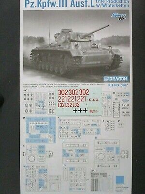 1//35 ABER 35217 UPGRATE SET for GERMAN  PANZER III Ausf J /& L for  DRAGON Kits