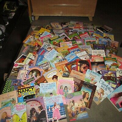 20 Kid chapter books/kid stories for Youth Early Readers Random No Duplicate