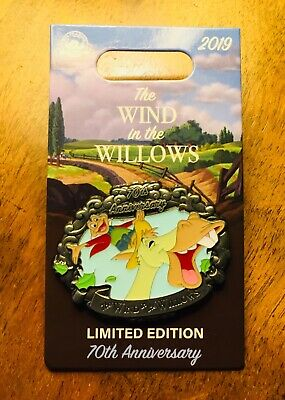 *New!* Mr Toad Wind In The Willows 70Th Ann Le2000 Disney Cyril Toad's Wild Ride