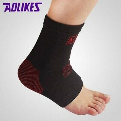 1Pair Compression Elastic Ankle Support Basketball Sports Brace Protector Socks