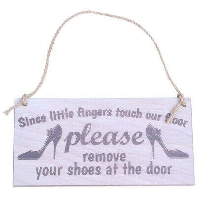 Since Little Fingers Touch Our Floor Please Remove Your Shoes At The Door P R6K1