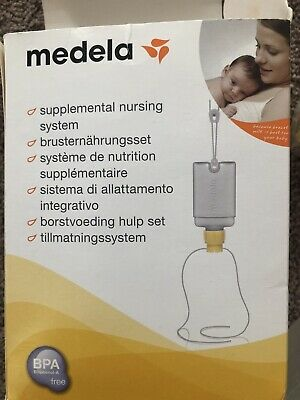 Medela Supplemental Nursing System + Free Calma Bottle