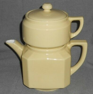 COORSITE Vintage FOLGERS 4 pc. ALL CHINA Automatic DRIP COFFEE MAKER Made in USA
