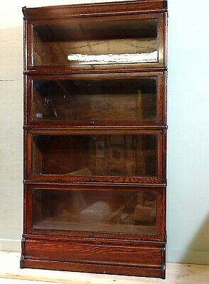 Globe Wernicke Sectional Barrister's Bookcase