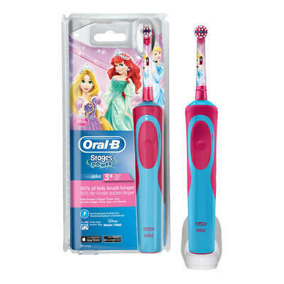 Oral-B Stages Power Electric Rechargeable Toothbrush Princesses For Kids 3+