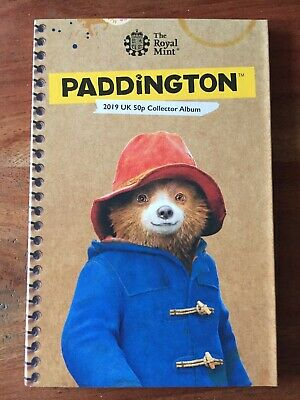 Paddington Bear 50p Coin Collector Album Royal Mint 2019 Coin Hunt
