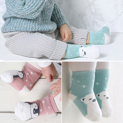 Baby Boy Girl Cartoon Cotton Socks NewBorn Infant Toddler Kids Soft Sock