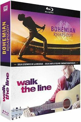 Blu ray  Bohemian Rhapsody + Walk The Line Neuf sous cellophane