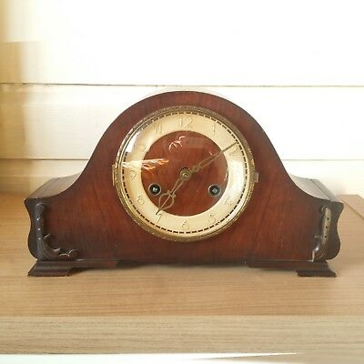 A ANTIQUE /ART DECO JUBA shelf MANTEL PENDULUM CLOCK! !