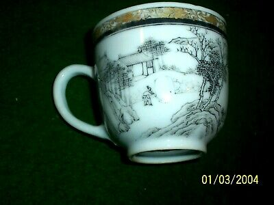 Chinese Export Lowestoft Demitasse Cup