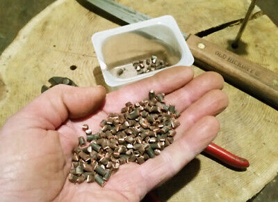 Cut Copper Wire PIECES 1/4 Lb. Antique Medicine Whiskey Bottle Glass Canning Jar