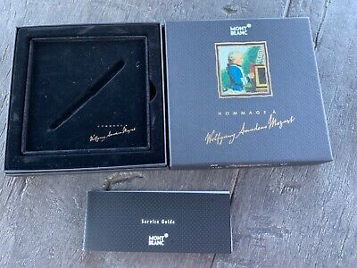 Montblanc BOX Wolfgang Amadeus Mozart Box only ( NO PEN ) included