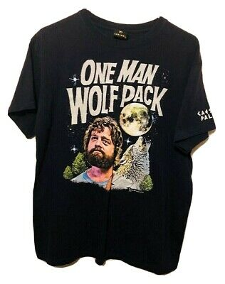 Spencers One Man Wolf Pack Hangover Movie Toddler Boy Funny Grey Tshirt Tee