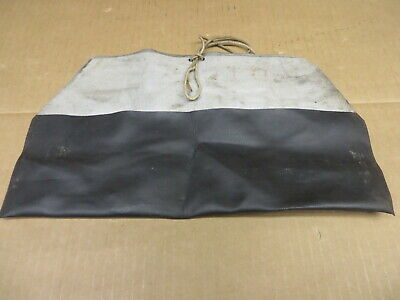 VOLVO TOOL ROLL roll up storage pouch TOOL POUCH OEM BLACK