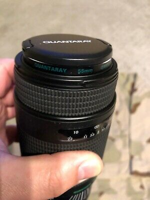 Quantaray 75-300 Lens Af/M Focus 1:4-5.6 For Canon. Tested. Working.