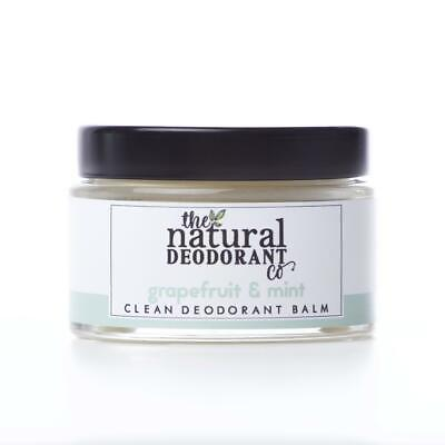 The Natural Deodorant Co Limpiar Desodorante Bálsamo Pomelo & Menta 60ml 55g