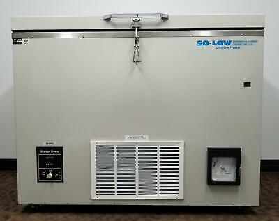 SoLow C85-9 Ultra Low Chest Lab Freezer Refurbished and Bio Certified