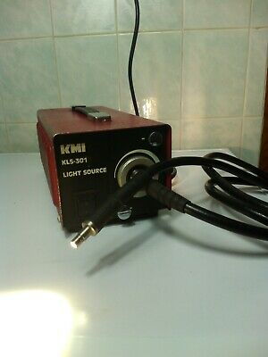 Olympus KMI KLS-301L Cold Light Source + Fiber Cable + Case
