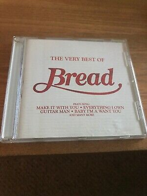 BREAD THE VERY BEST OF CD ALBUM (GREATEST HITS) incl: MAKE IT WITH YOU VGC