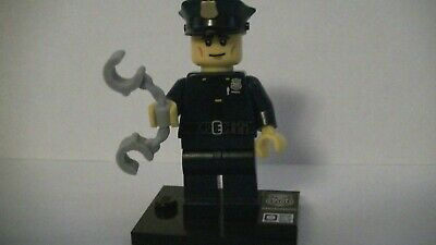 MINIFIG Collectable Series 9 Policeman col09-6 col134 GENUINE LEGO MINI-FIGURE
