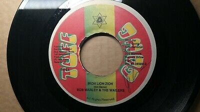 Bob Marley & The Wailers Iron Lion Zion Tuff Gong Jamaica 45 Reggae Roots 7""