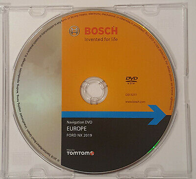 Latest Ford Nx Sat Nav Disc  2019  Map Dvd  For Focus Kuga Galaxy Mondeo S-Max