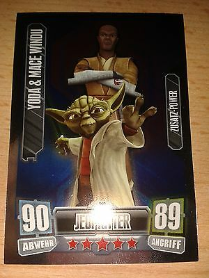 Force ATTAX série 2 yoda #004