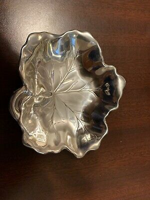 Beautiful Sterling silver Reed & Barton  Maple Leaf bowl/dish/ tray 84.7g