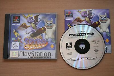 Spyro: Year of the Dragon - Platinum (PS1) [PAL] - WITH WARRANTY -
