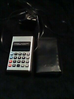 CASIO Pocket-Mini Electronic Calculator