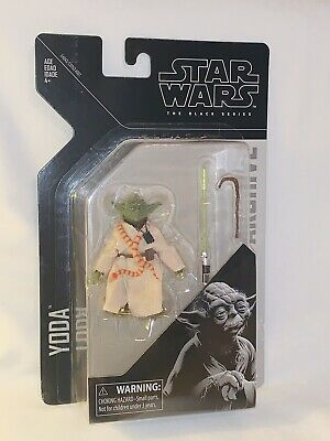 Star Wars The Black Series Archive Yoda 6-Inch Scale Action Figure W/Accessories