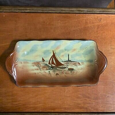 Antique Empire Ware Stoke On Trent Porcelain Tray Circa 1939