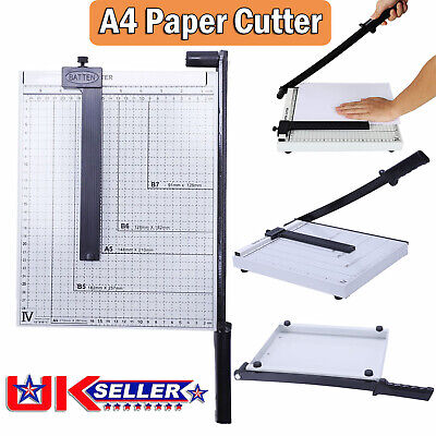 Heavy Duty Professional A4 Paper Guillotine Cutter Trimmer Machine Home Office M