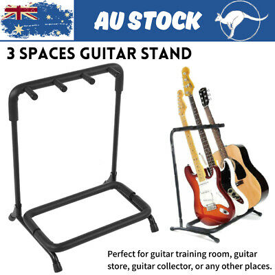 3Spaces Guitar Stand Electric Guitar Bass Hold Display Rack Metal Bracket Holder